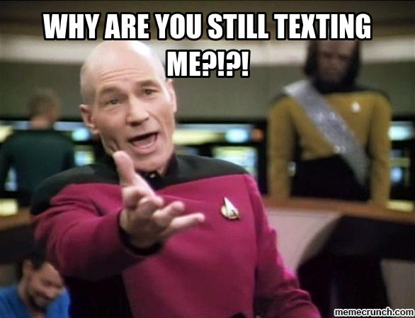 Why You Still Texting